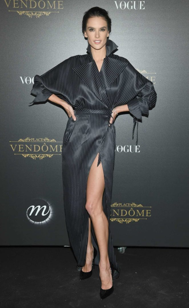 Alessandra Ambrosio: Vogue party at 2017 Paris Fashion Week-18