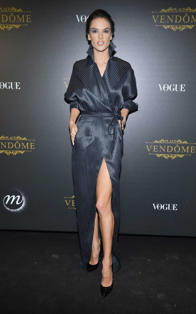 Alessandra Ambrosio: Vogue party at 2017 Paris Fashion Week-22