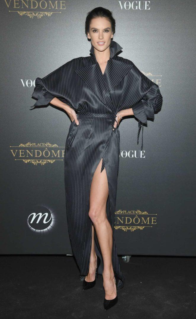 Alessandra Ambrosio: Vogue party at 2017 Paris Fashion Week-23
