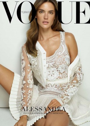 Alessandra Ambrosio - Vogue Turkey Cover (March 2015)