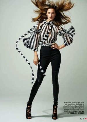 Alessandra Ambrosio - Vogue Turkey Magazine (March 2015)