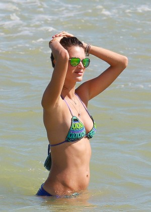 Alessandra Ambrosio Hot in Bikini -06