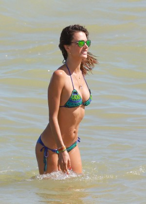 Alessandra Ambrosio Hot in Bikini -11