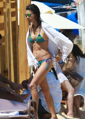 Alessandra Ambrosio Hot in Bikini -14