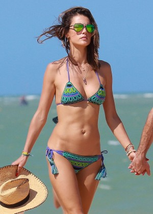 Alessandra Ambrosio Hot in Bikini -15