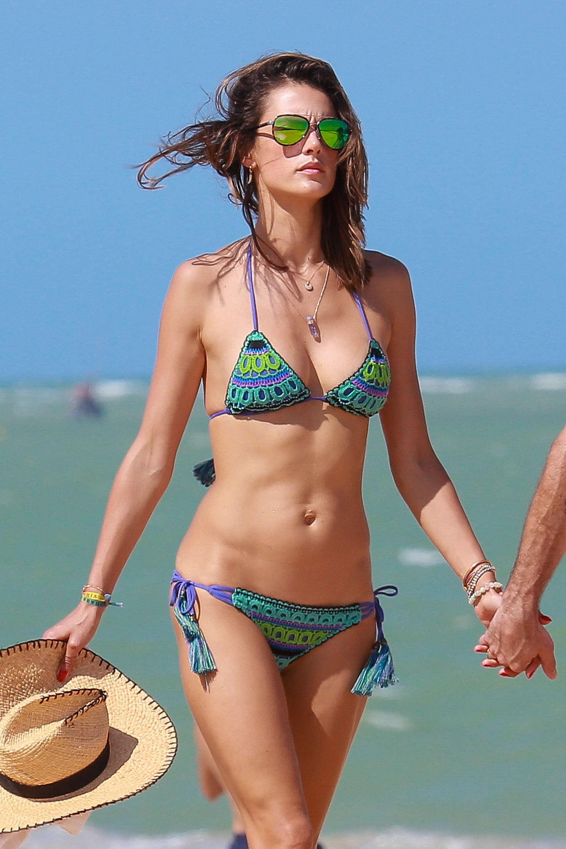 Alessandra Ambrosio 2016 : Alessandra Ambrosio Hot in Bikini -15