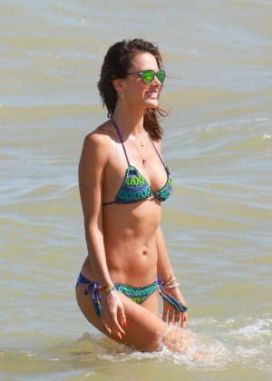 Alessandra Ambrosio Hot in Bikini -22