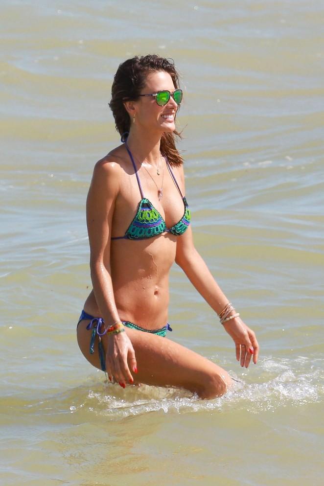 Alessandra Ambrosio 2016 : Alessandra Ambrosio Hot in Bikini -29