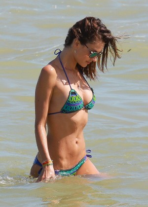 Alessandra Ambrosio Hot in Bikini -34