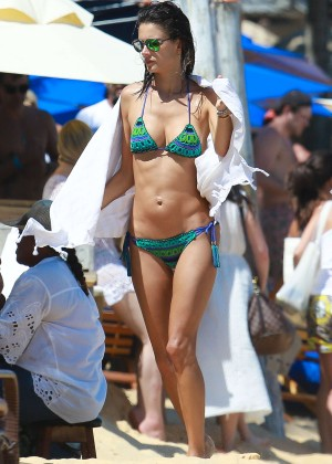 Alessandra Ambrosio Hot in Bikini -35