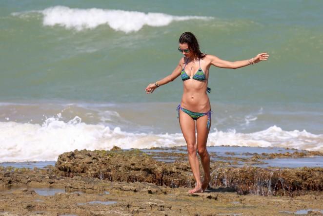 Alessandra Ambrosio 2016 : Alessandra Ambrosio Hot in Bikini -38