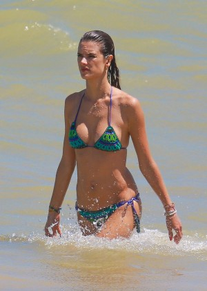 Alessandra Ambrosio Hot in Bikini -40