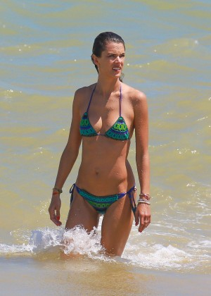 Alessandra Ambrosio Hot in Bikini -43