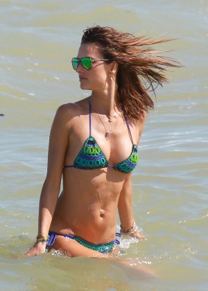 Alessandra Ambrosio Hot in Bikini -45