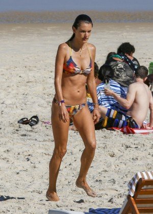 Alessandra Ambrosio Hot in Bikini -01
