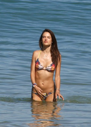 Alessandra Ambrosio Hot in Bikini -08
