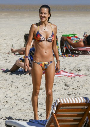Alessandra Ambrosio Hot in Bikini -17