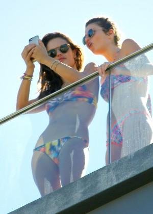 Alessandra Ambrosio Hot in Bikini -24