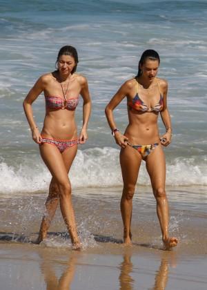 Alessandra Ambrosio Hot in Bikini -32