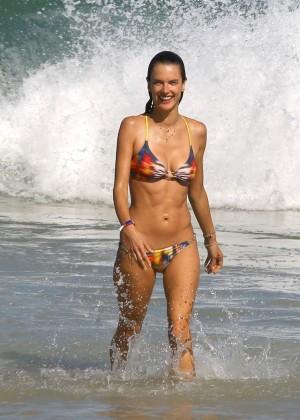 Alessandra Ambrosio Hot in Bikini -33