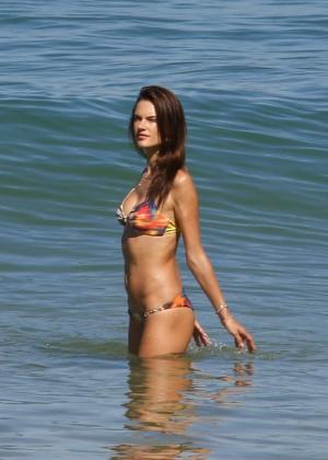 Alessandra Ambrosio Hot in Bikini -41