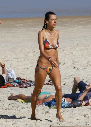 Alessandra Ambrosio Hot in Bikini -57