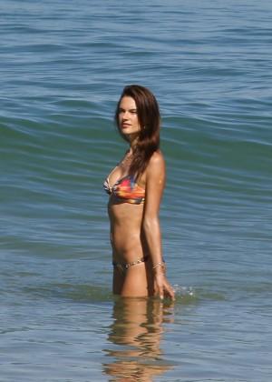 Alessandra Ambrosio Hot in Bikini -68