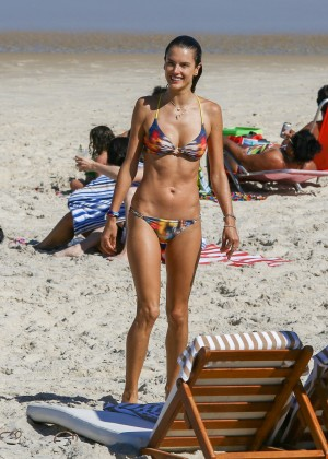 Alessandra Ambrosio Hot in Bikini -74