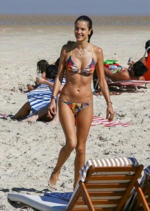 Alessandra Ambrosio Hot in Bikini -77