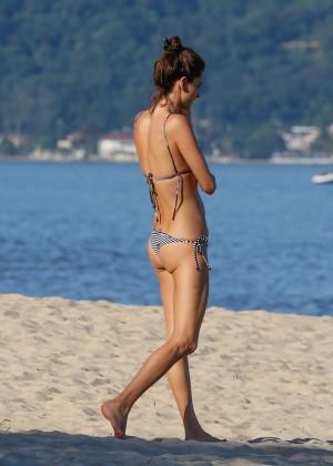 Alessandra Ambrosio in Bikini -02