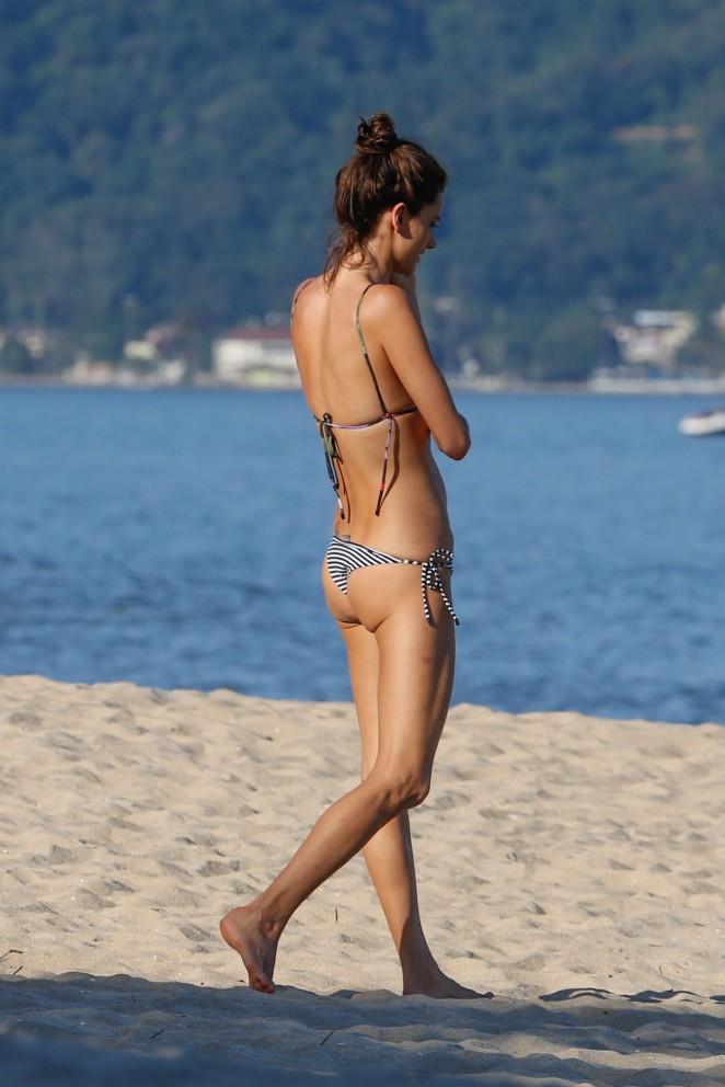 Alessandra Ambrosio 2015 : Alessandra Ambrosio in Bikini -02