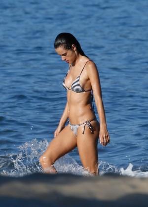 Alessandra Ambrosio in Bikini -04