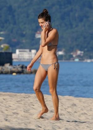 Alessandra Ambrosio in Bikini -07