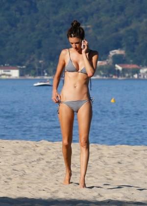 Alessandra Ambrosio in Bikini -16