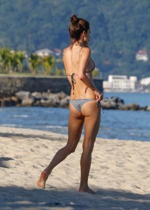 Alessandra Ambrosio in Bikini -36