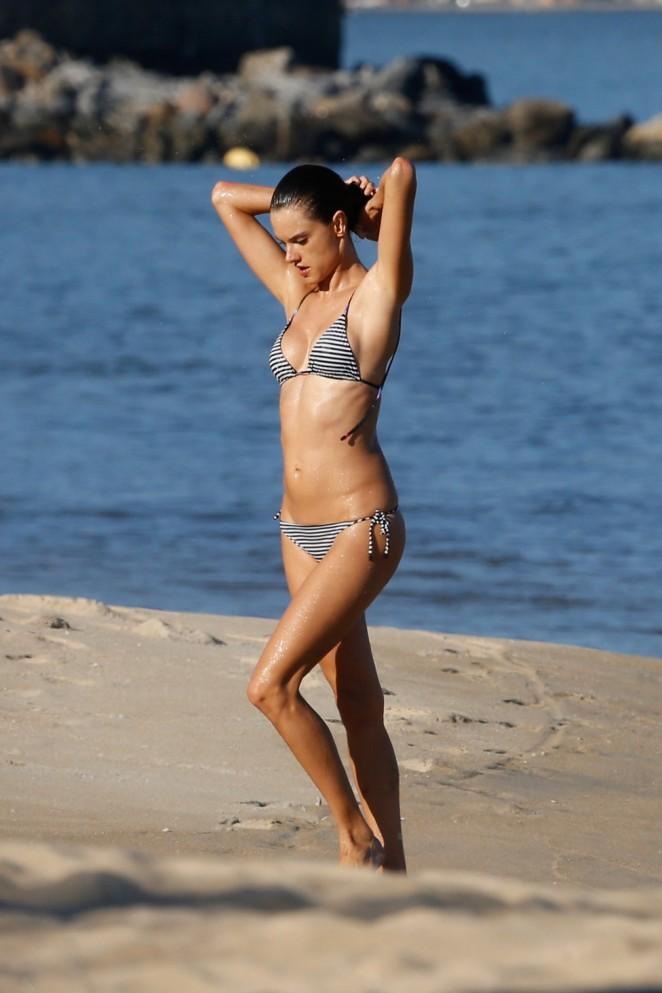 Alessandra Ambrosio in Bikini in Rio