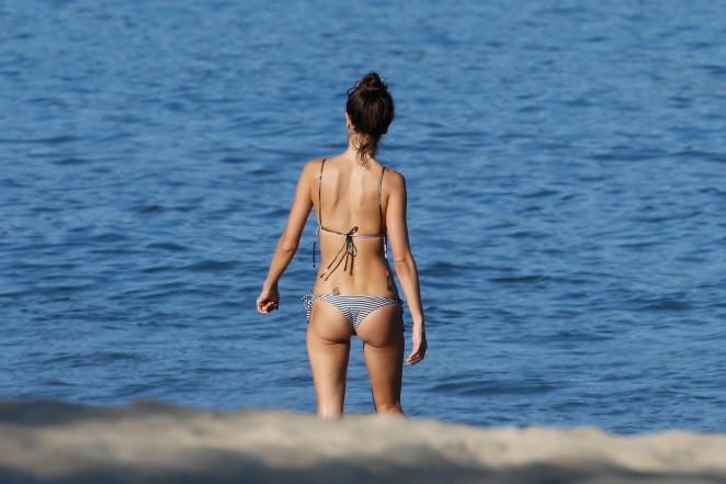 Alessandra Ambrosio 2015 : Alessandra Ambrosio in Bikini -52