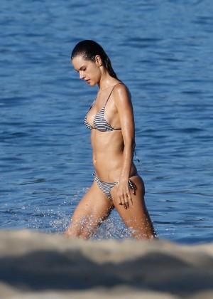 Alessandra Ambrosio in Bikini -53
