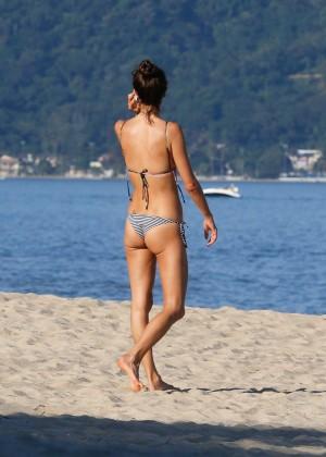 Alessandra Ambrosio in Bikini -55