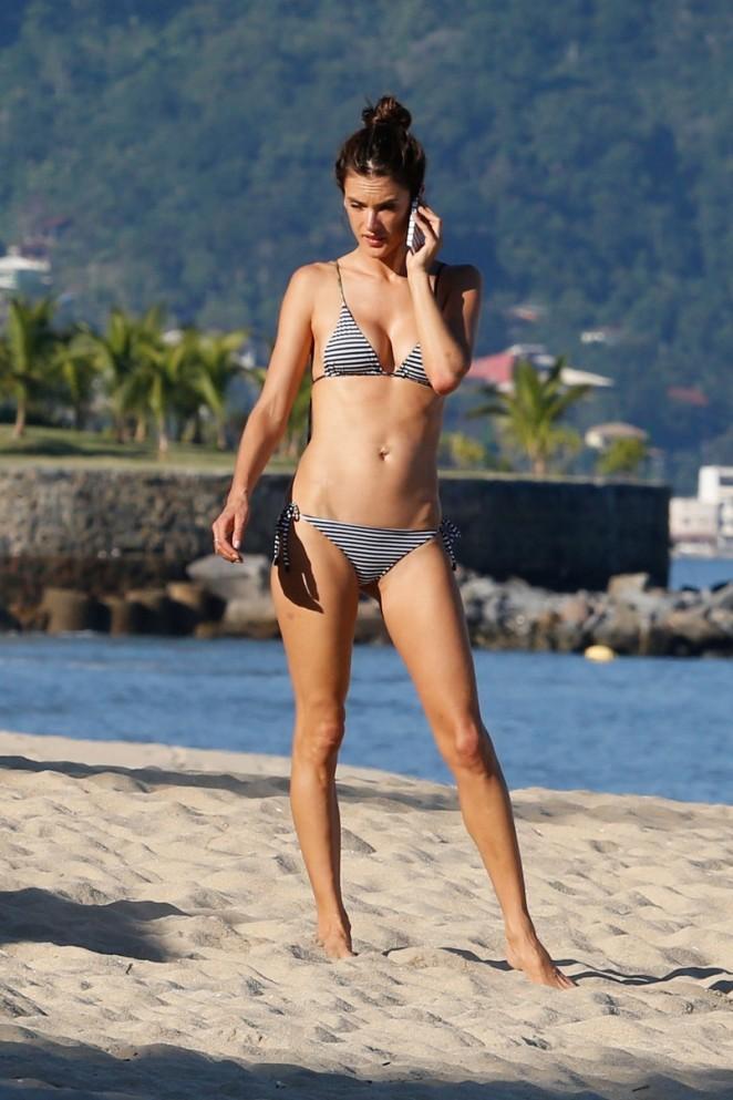 Alessandra Ambrosio in Bikini -57