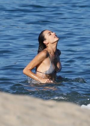 Alessandra Ambrosio in Bikini -62