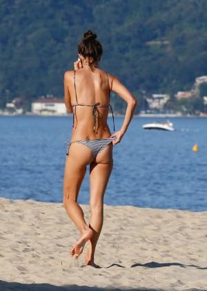Alessandra Ambrosio in Bikini -67