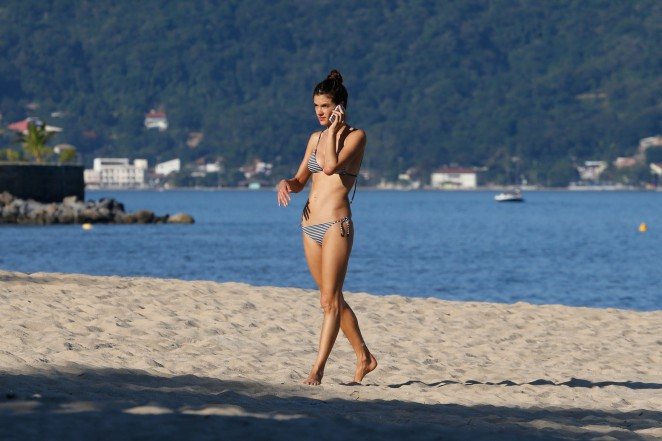 Alessandra Ambrosio 2015 : Alessandra Ambrosio in Bikini -70