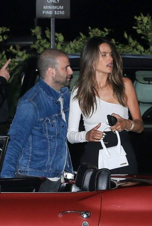 Alessandra Ambrosio with mystery man at Nobu in Malibu