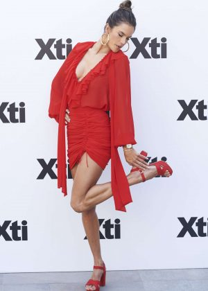 Alessandra Ambrosio - Xti New Collection Presentation in Madrid