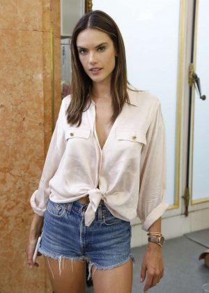 Alessandra Ambrosio - Zuhair Murad Couture Backstage in Paris