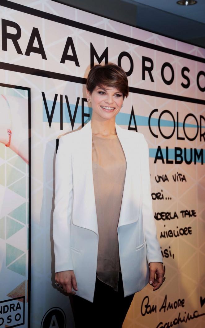 Alessandra Amoroso - Presents his new album 'Vivere a colori' in Milan