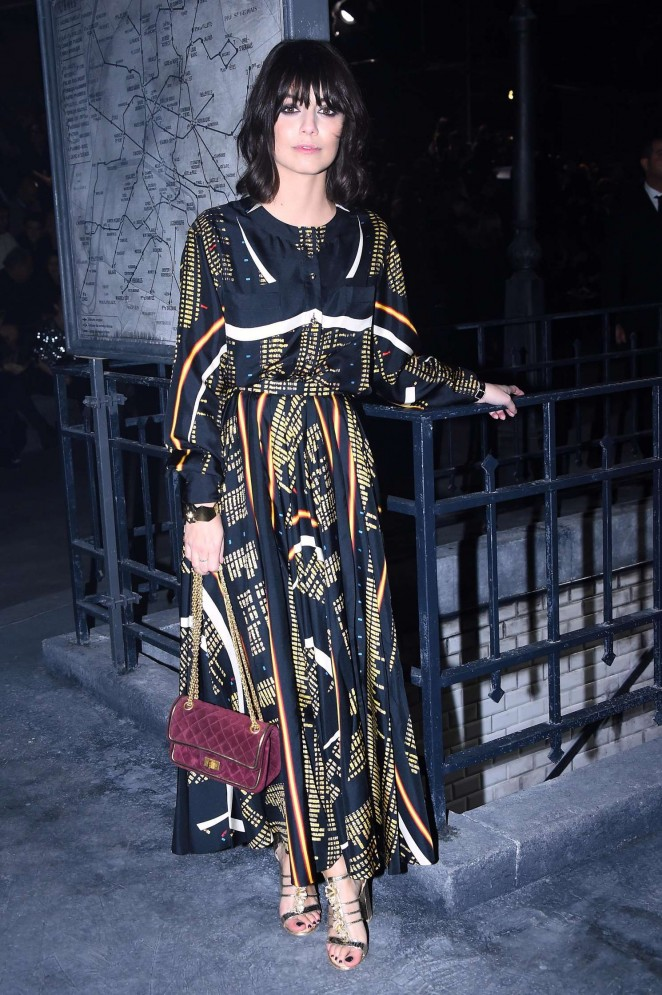 Alessandra Mastronardi - Chanel Metiers d'Arts Fashion Show 2015 in Rome