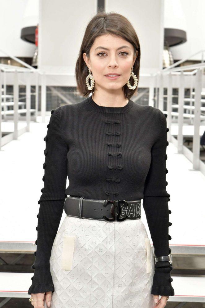 Alessandra Mastronardi - Chanel Show at 2017 PFW in Paris