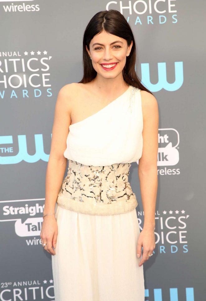 Alessandra Mastronardi - Critics' Choice Awards 2018 in Santa Monica